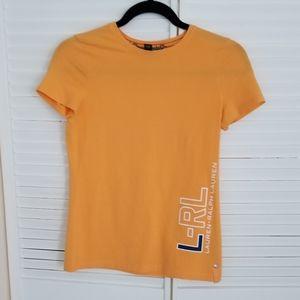 Lauren RL Logo Cotton Top